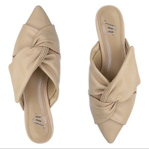 The Fix Knotted Mules Flats